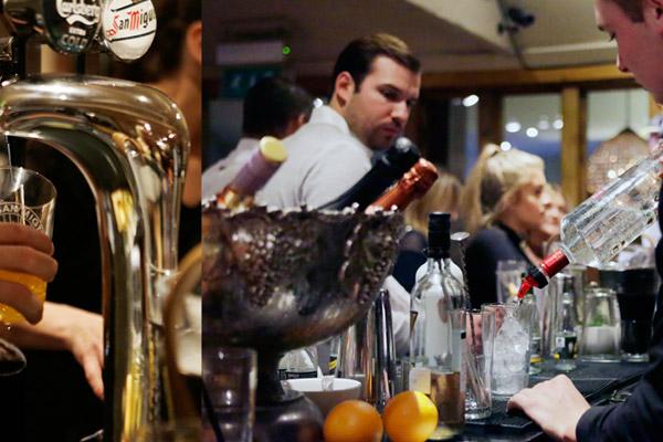 Bar Area at Top Oak Pub Essex